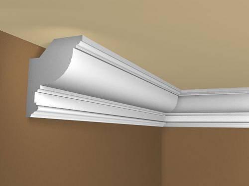 Как клеить потолочный плинтус к натяжному потолку - всё о ремонте потолка