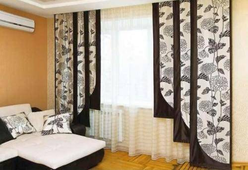 Выкройки штор своими руками поэтапно - много готовых идей и схем пошива штор (100 фото)