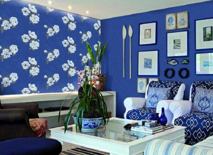 Дизайн синей спальни: 60+ фото в интерьере, современные идеи оформления