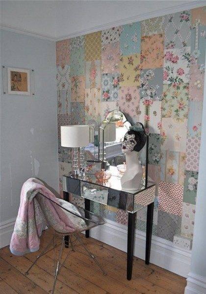 Оригинальные идеи, как украсить обои в комнате своими руками