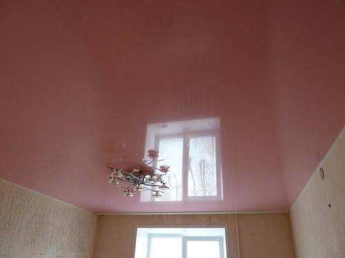 Максимальная ширина натяжного потолка без шва