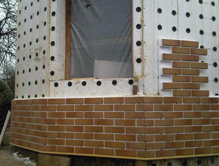 Фасадная клинкерная плитка: плюсы и минусы, технология облицовки (фото, видео)