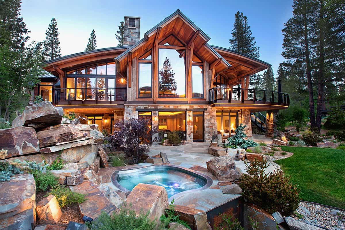 Красивые окна в деревянном доме — лучшие идеи дизайна, советы по выбору материалов и варианты установки (90 фото)