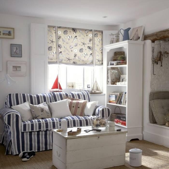 Спальня в морском стиле (60 фото): дизайн интерьера своими руками