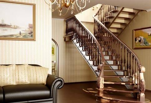 Высота ступеней лестницы в частном доме: размеры по гост