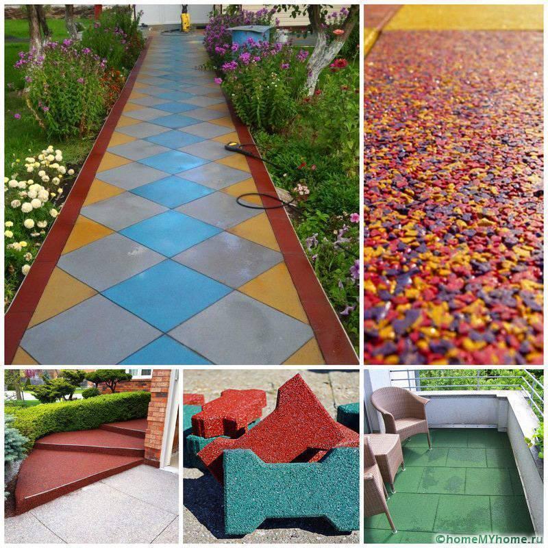 Тротуарная плитка для дорожек на даче. цены, примеры, виды
