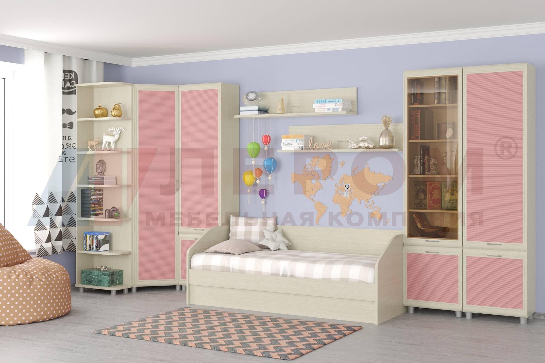 Угловой шкаф в детскую для девочки и мальчика: мебель для одежды и игрушек
