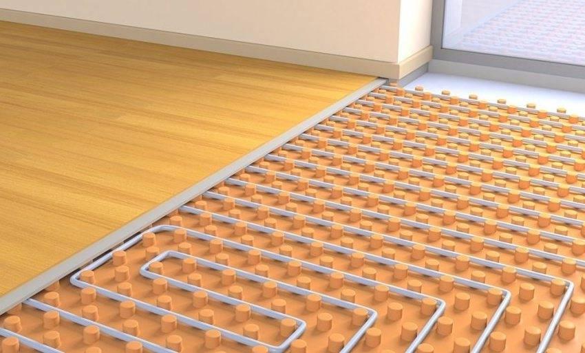 Тёплый пол без стяжки: как уложить в частном доме без заливки