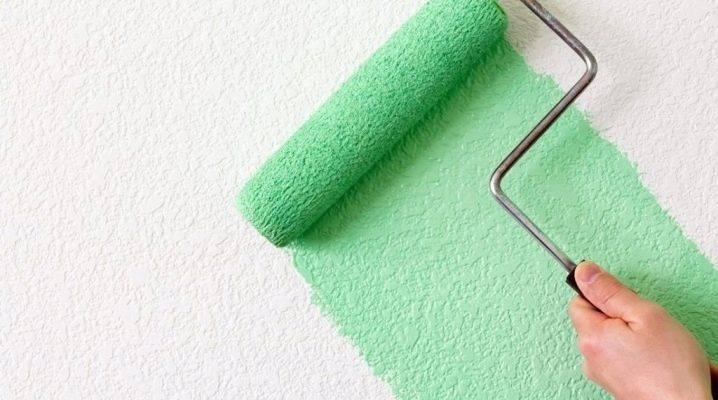 Валики для покраски: каким инструментом лучше красить стены и потолок акриловой водно-дисперсионной краской, модели валиков с подачей лакокрасочного материала