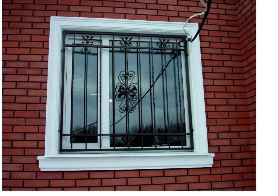 Технология – как сделать решетки на окна своими руками