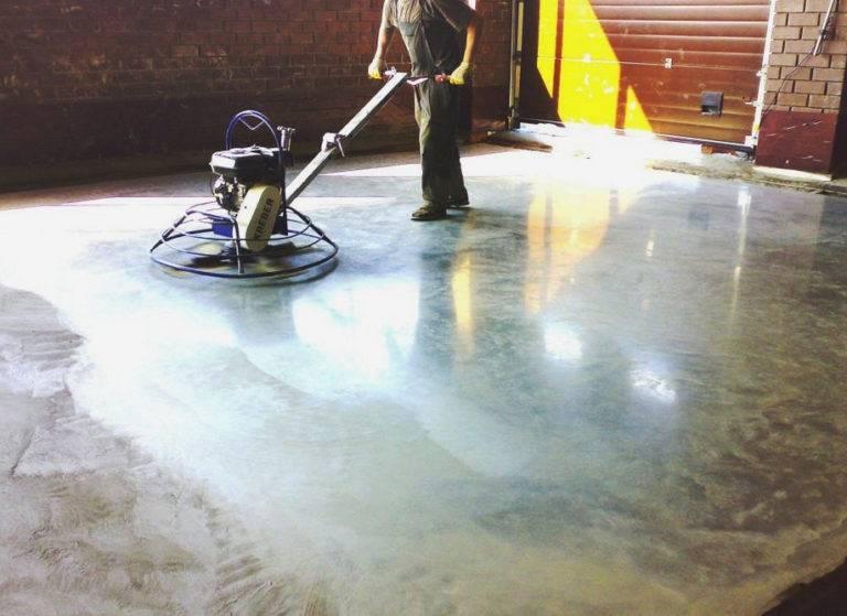 Топпинг для бетонного пола - что это такое?