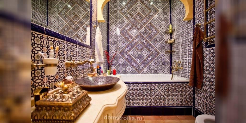 Марокканский стиль в дизайне интерьера | современные идеи обустройства