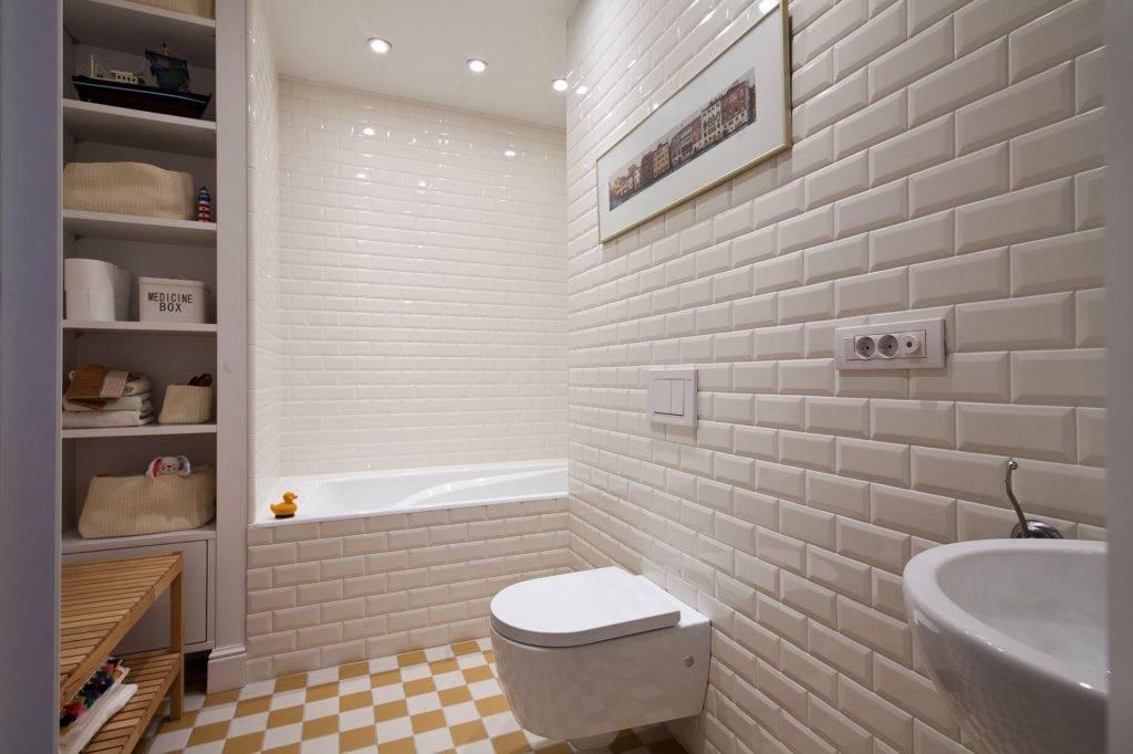 Виды настенной керамики дляванной комнаты, советы по выбору плитки, размерам и отделке