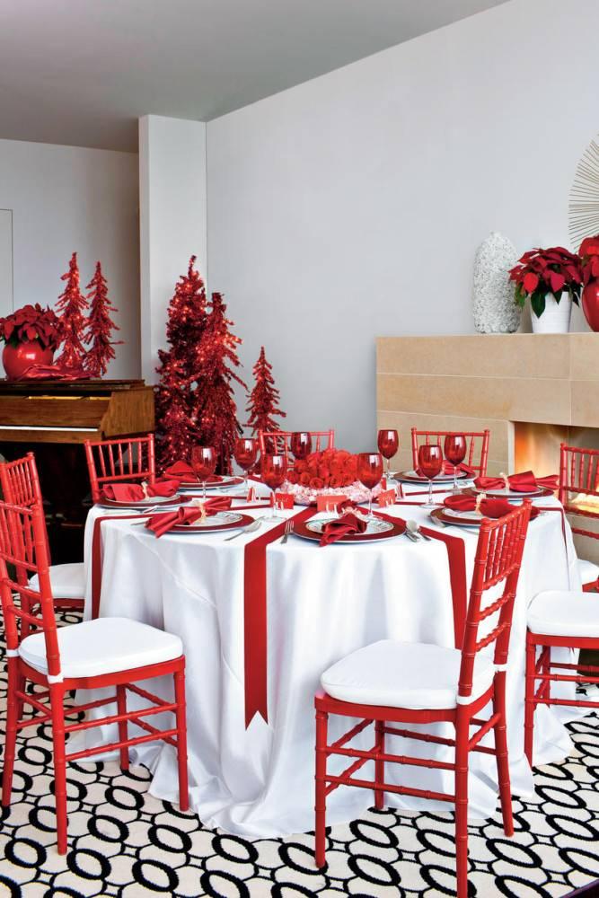 Декор стола на новый 2021 год – новогодняя сервировка, фото-идеи оформления новогоднего стола