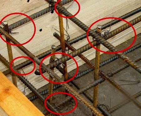 Вязка арматуры под ленточный фундамент: правила, виды, вязка углов