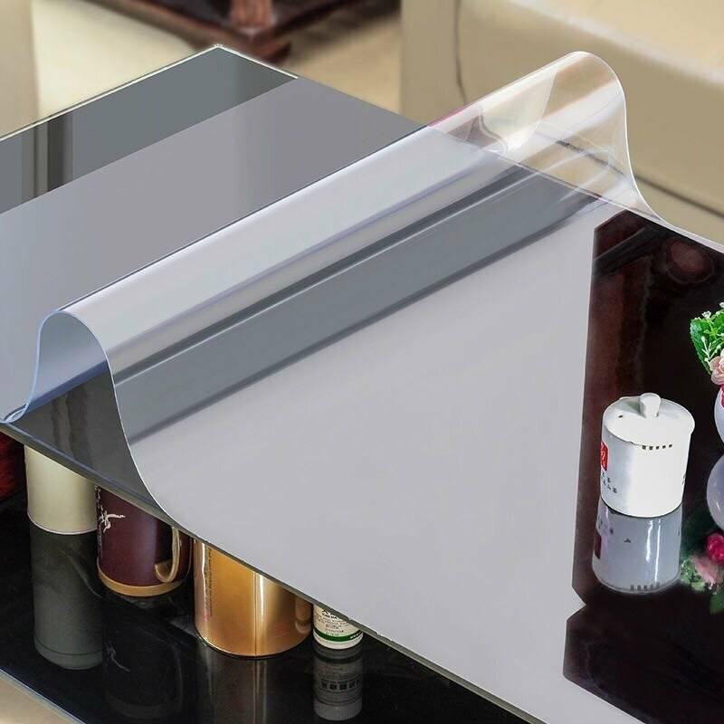 Силиконовая скатерть - жидкое стекло на кухонный стол, клеенка прозрачная, покрытие пвх, плюсы и минусы термоклеенки, термопленка