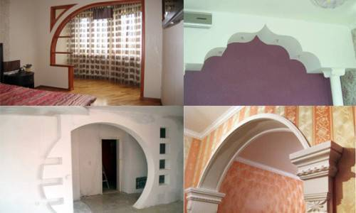 Как сделать арку в квартире - 120 фото стильной замены дверного проема
