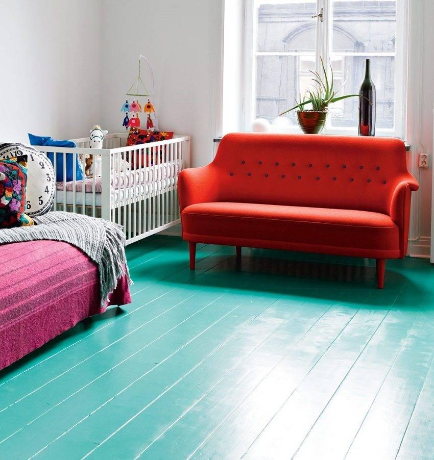 Самые необычные идеи покраски пола в доме или квартире