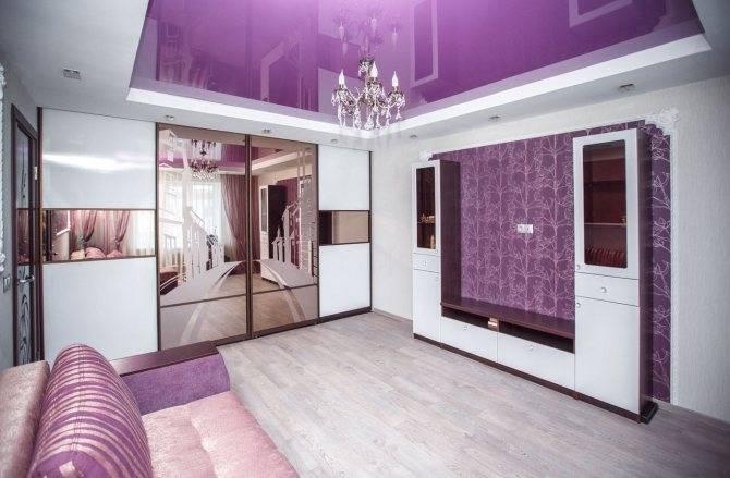 75 современных идей оформления интерьера в фиолетовом цвете