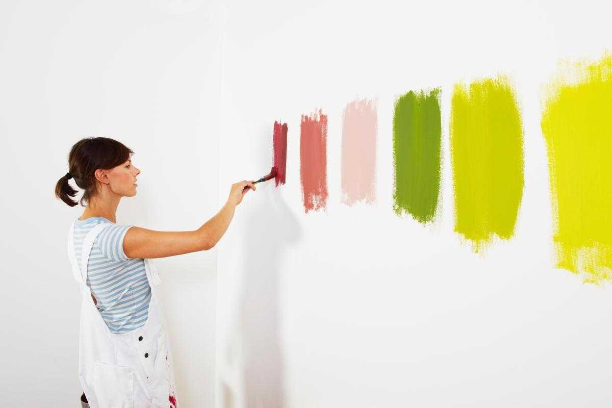 Краска для обоев под покраску - виды и характеристики