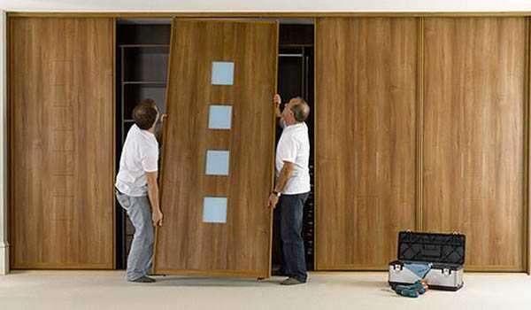 Делаем двери для шкафа купе самостоятельно