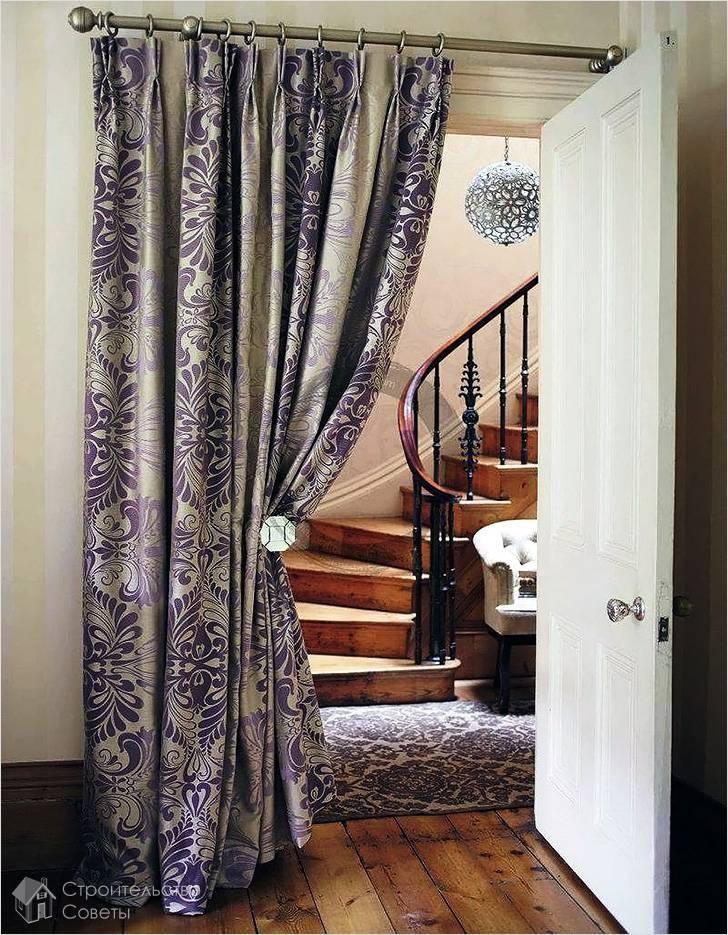 Отделка и оформление проема без двери, как красиво оформить проход на кухню и в гостиную шторами и украшениями