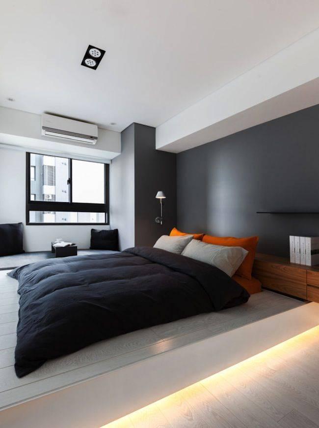 Интерьер спальни в стиле минимализм: лаконичность во всем!