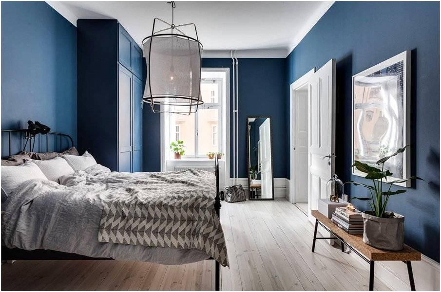 Синий цвет в интерьере: где уместен, с чем сочетается?