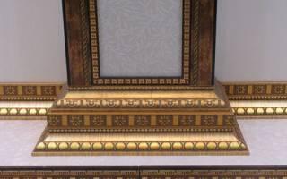 Молдинги в интерьере для разделения обоев: виды декоративного обрамления и как их клеить на стену