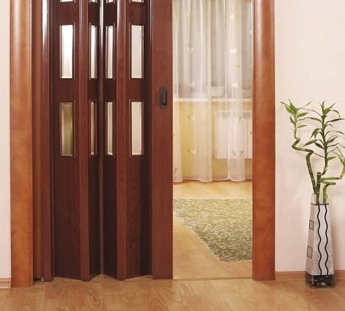 Как установить дверь гармошку своими руками - твойдомстройсервис.рф