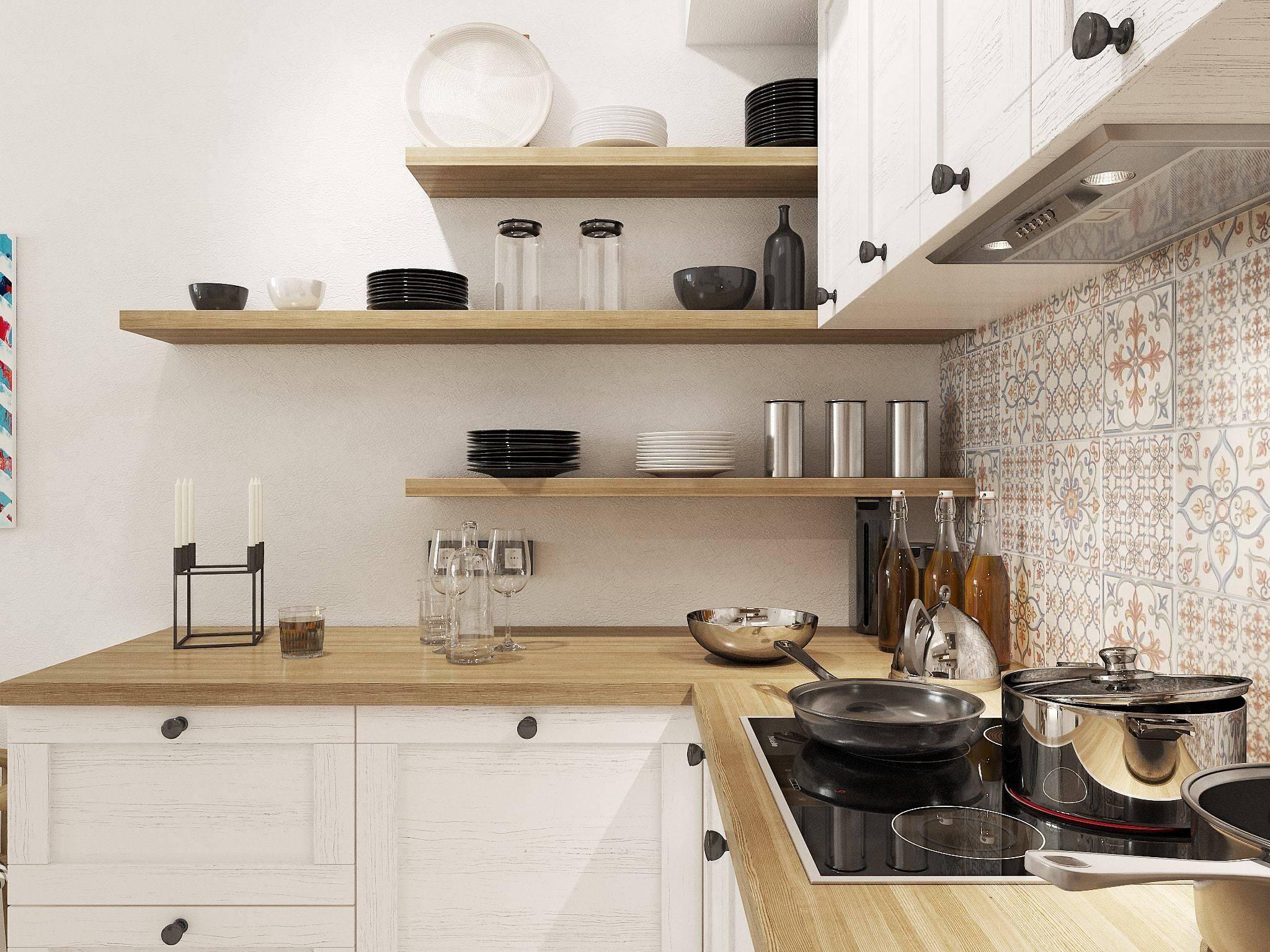 Оформляем кухню в скандинавском стиле