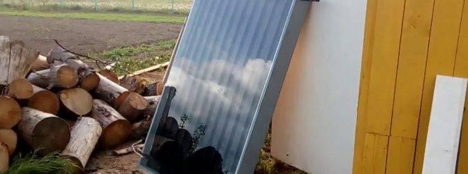 Солнечный водонагреватель своими руками: принцип действия, материалы и инструменты, процесс сборки.