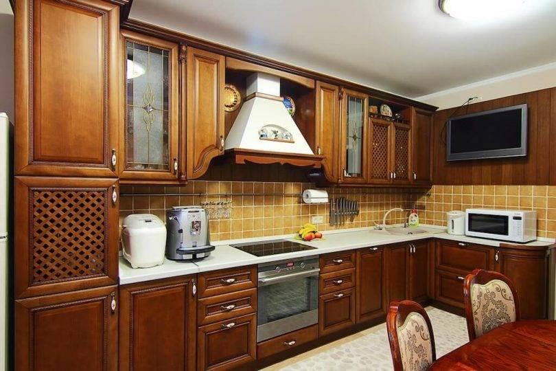 Кухня из дерева - 8 подсказок для покупателя (фото в интерьере)