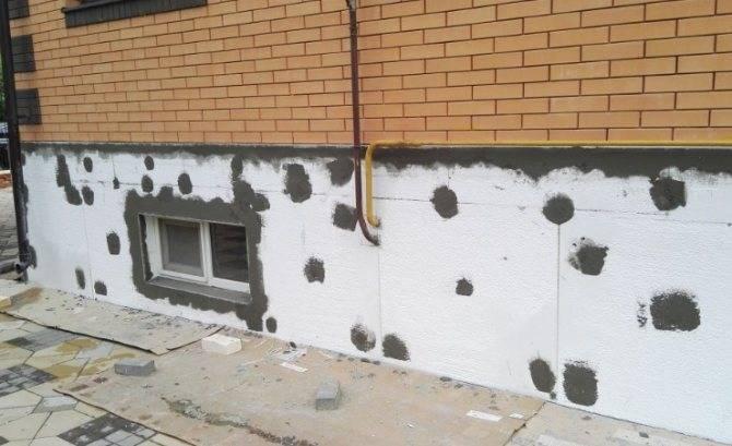 Утепление фундамента дома снаружи: лучший способ уберечь основу