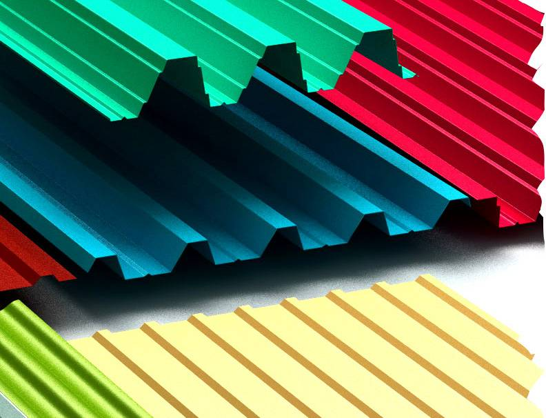 Виды профнастила для крыши, забора, стен, типы профиля и размеры