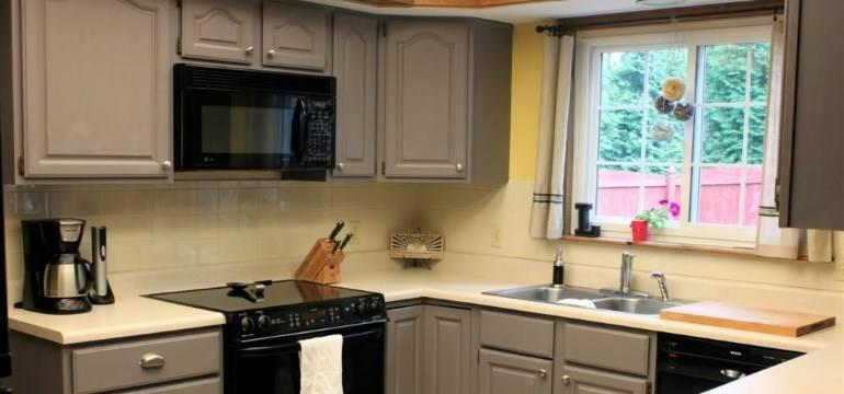 Реставрация кухонных фасадов: как обновить столешницу своими руками, ремонт старой мебели и гарнитура из дерева, как обклеить кухню из мдф