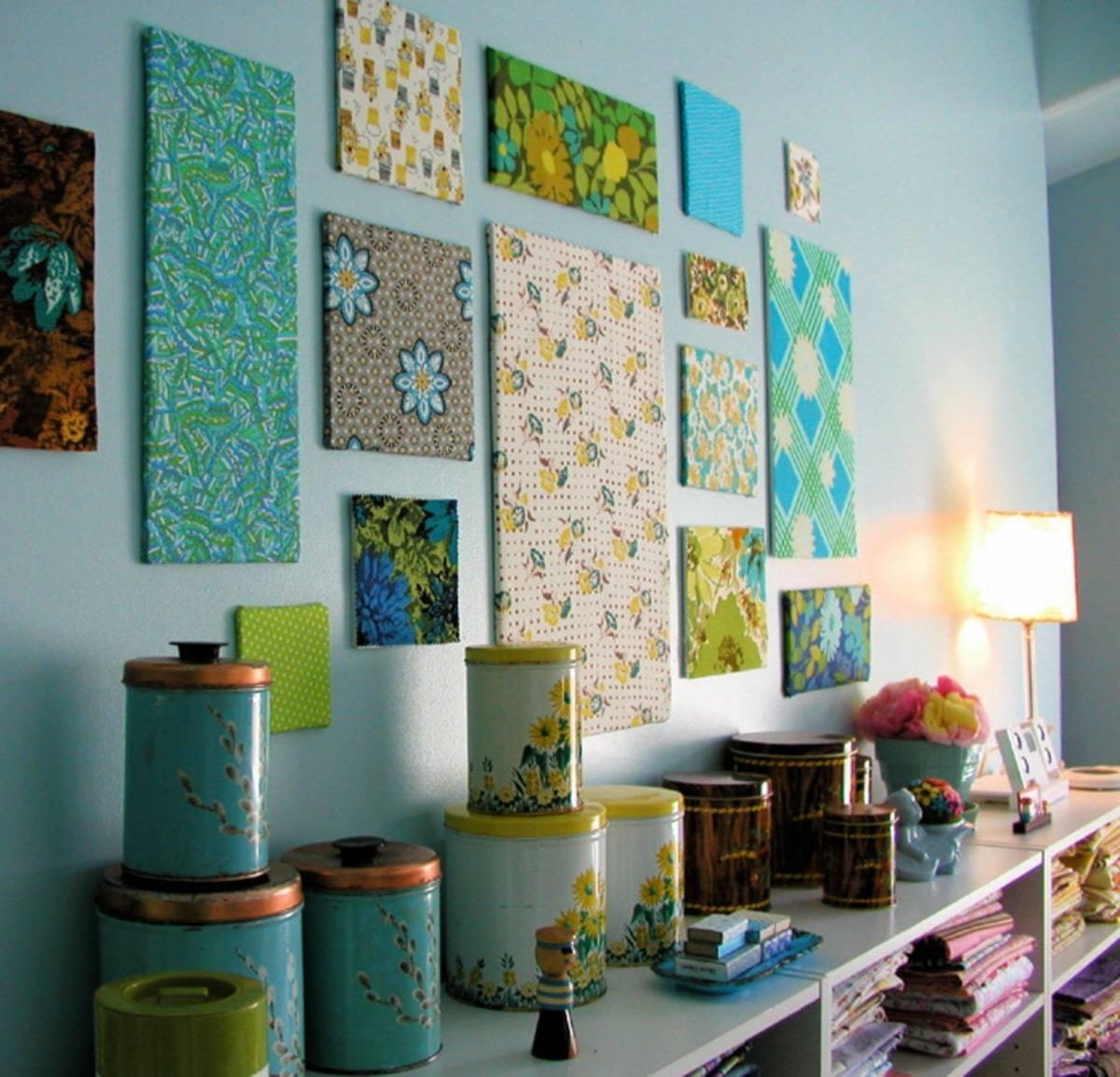 Декор стен своими руками: 200+ (фото) оригинальных идей