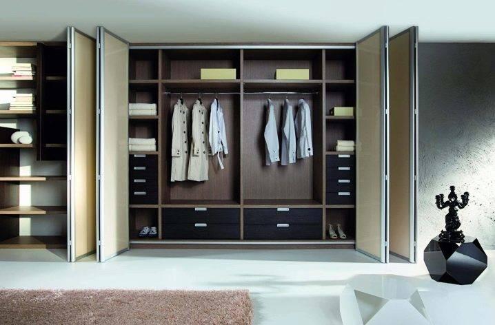 Складная дверь гармошка: раскладные деревянные двери для гардеробной и не только