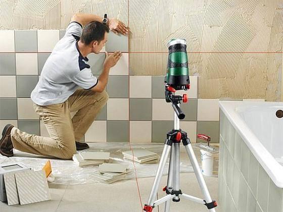 Технология укладки плитки на пол и стены с примерами