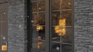 Окна с раскладкой в интерьере частного дома +фото вариантов