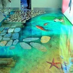 Наливной 3д пол своими руками: технология полимерных, прозрачная эпоксидная смола, как сделать, прозрачный, нанесение покрытия, рисунок