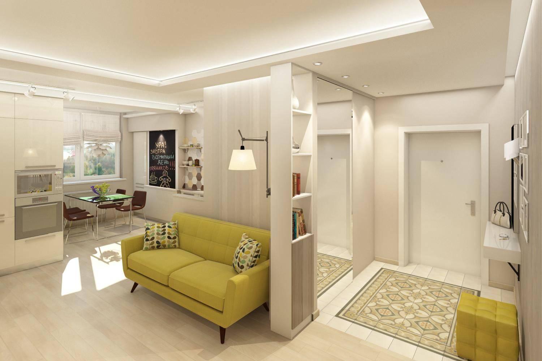 Дизайн проходной гостиной, гостиная совмещенная с прихожей