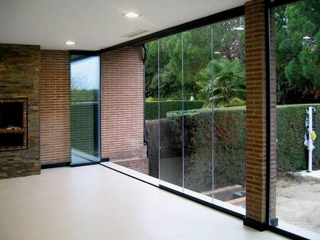 Французские окна: в квартире, в частном доме | фото