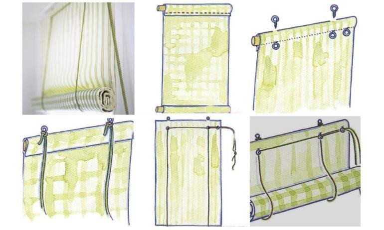 Как выбрать рулонные шторы на пластиковые окна (39 фото)