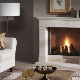 Электрический камин с эффектом пламени: 230+ (фото) для выбора