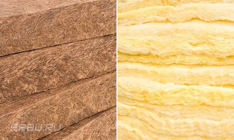 Что лучше минвата или каменная вата, чем отличается минвата от каменной ваты