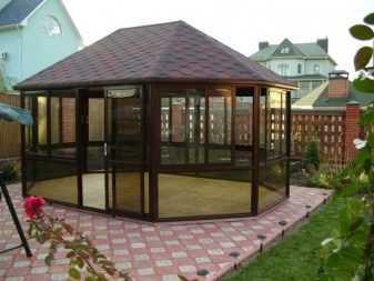 Мебель для беседки (45 фото): большой деревянный стол для дачной беседки своими руками и скамейки из дерева