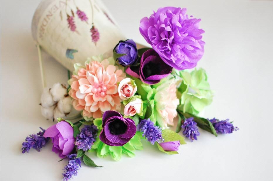 Как сделать большой цветок из бумаги? большой бумажный цветок: топ - 20 идей с фото. пошаговый мастер-класс + видео урок