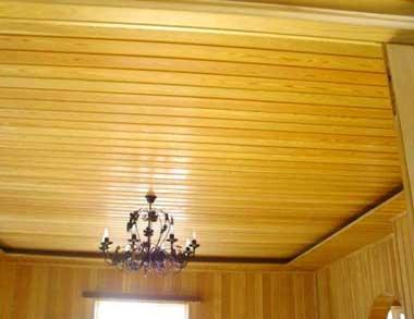Какие виды отделки потолка в деревянном доме своими руками: Обзор и идеи - Виды