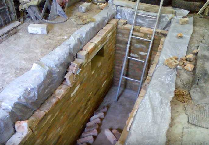 Как построить смотровую яму своими руками